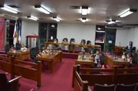 Alunos da Escola Batista Central visitam Câmara de Timóteo