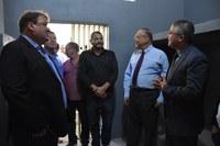 Autoridades visitam obras do Presídio de Timóteo