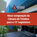 Câmara de Timóteo tem renovação de 53,33%