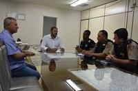 Câmara e forças de segurança se reúnem para discutir integração de sistemas de monitoramento
