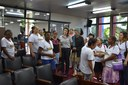 Câmara Municipal de Timóteo recebe alunas do projeto Construindo o Saber