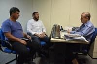 """Câmara, Unileste e Sindcomércio buscam parceria para realização da campanha """"Maio Amarelo"""""""