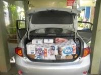 Legislativo entrega doações para as vítimas da barragem da Samarco