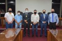 Legislativo recebe visita oficial do novo chefe do 12° Departamento de Polícia Civil