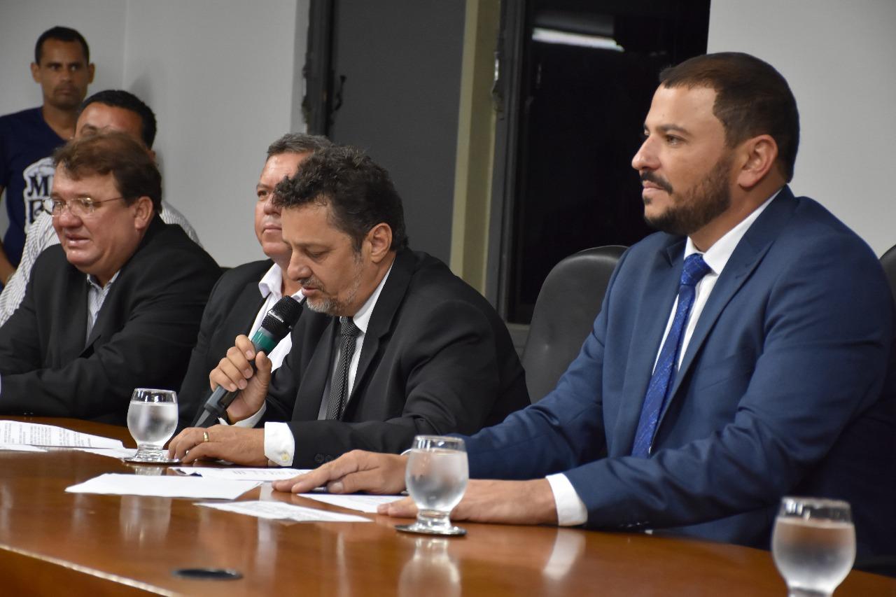 Luiz Perdigão é o novo presidente da Câmara de Timóteo