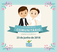 Prazo para inscrições de casamento comunitário está quase no fim