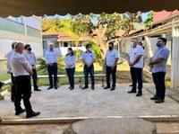 Presidente da Câmara participa da entrega de mais 10 leitos de UTI-Covid no Hospital e Maternidade Vital Brazil