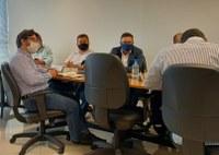 Presidente da CMT participa de reunião na agência metropolitana do Vale do Aço