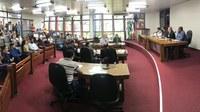 Projeto da Reforma Administrativa da PMT saiu de pauta na sessão de hoje