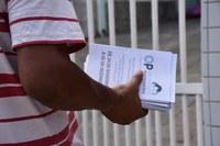 Servidores divulgam orçamento participativo nas ruas