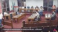 Vereadores aprovam projetos de lei do Executivo Municipal