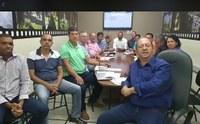 Vereadores se reúnem com prefeito para debater demandas da cidade