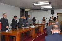 Vereadores se reúnem em sessão solene da nova legislatura